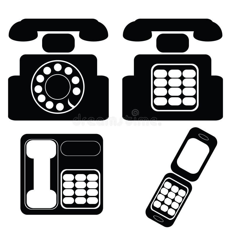 телефоны иллюстрация штока