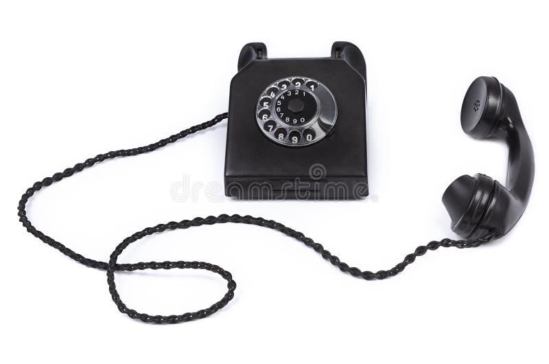 телефон бакелита старый стоковая фотография rf