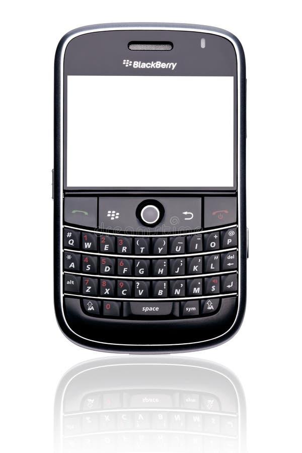 телефон изолированный ежевикой франтовской стоковые изображения
