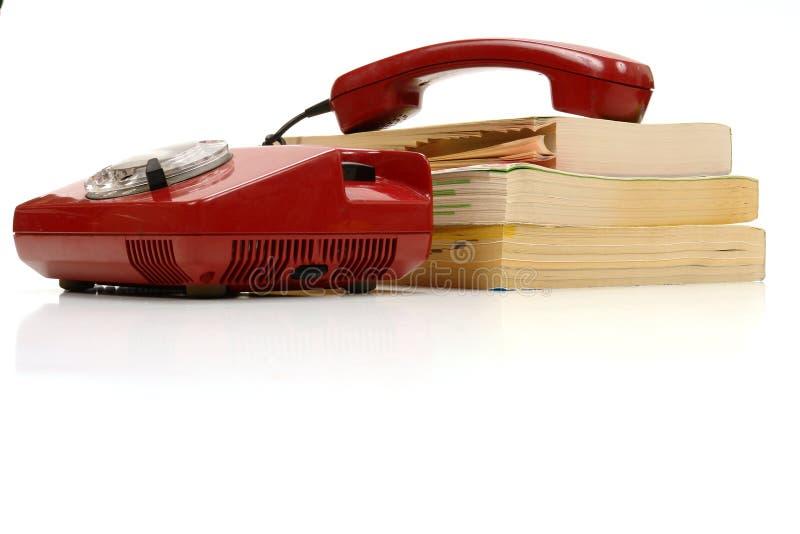 телефон книги стоковые фотографии rf