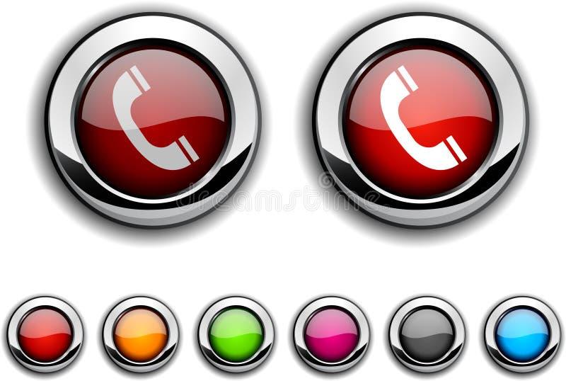 телефон кнопки иллюстрация штока