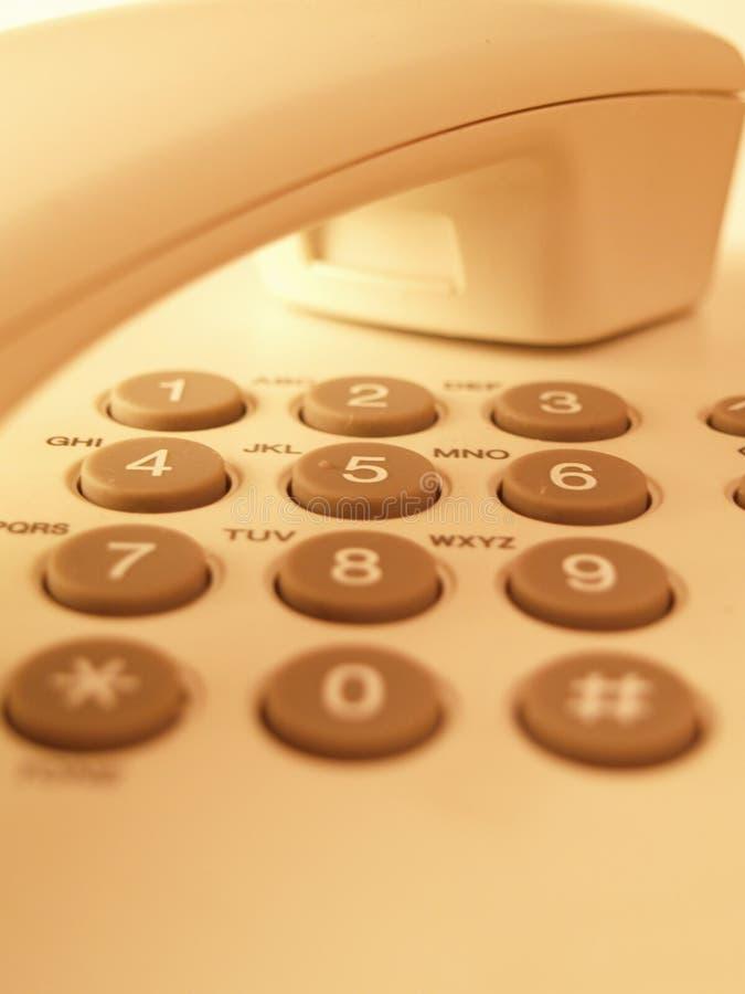 телефон кнопочной панели стоковое фото
