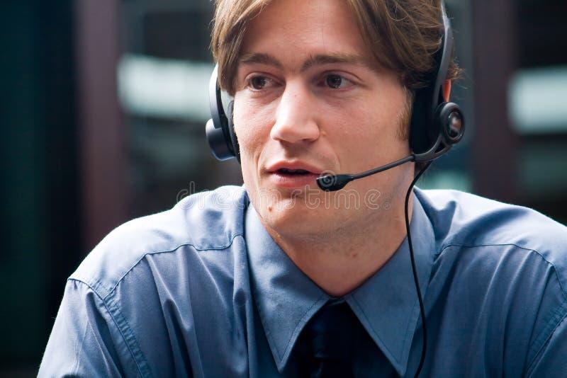 телефон консультанта стоковая фотография rf