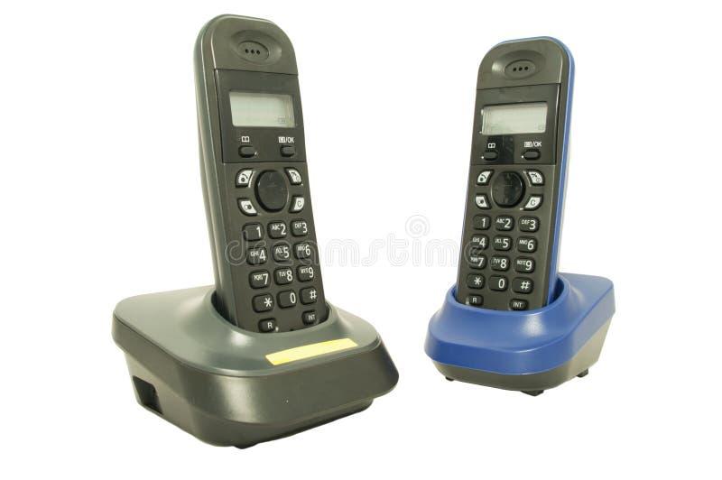 телефон офиса установленный стоковое изображение rf