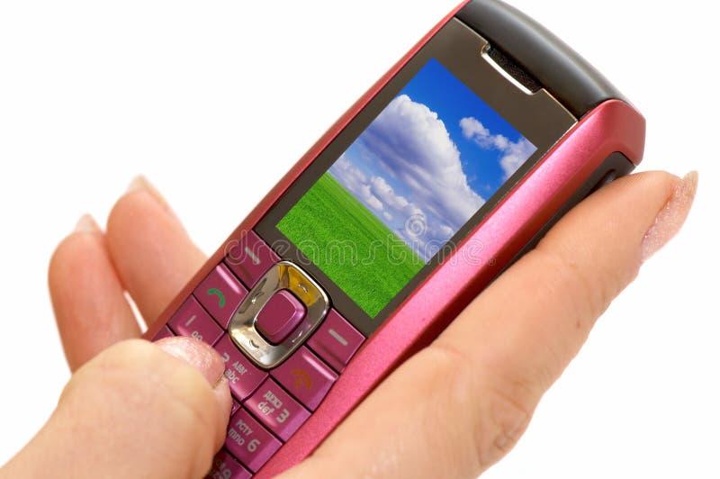 телефон руки стоковые фотографии rf