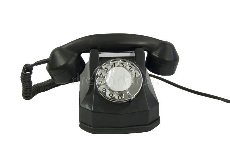 телефон старого типа стоковые фото
