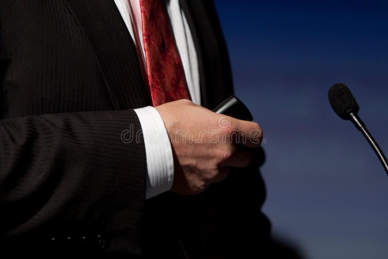 телефон удерживания стоковая фотография rf