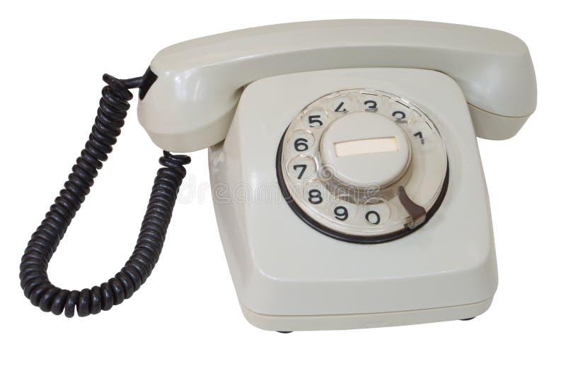 телефон шкалы серый ретро стоковые фотографии rf