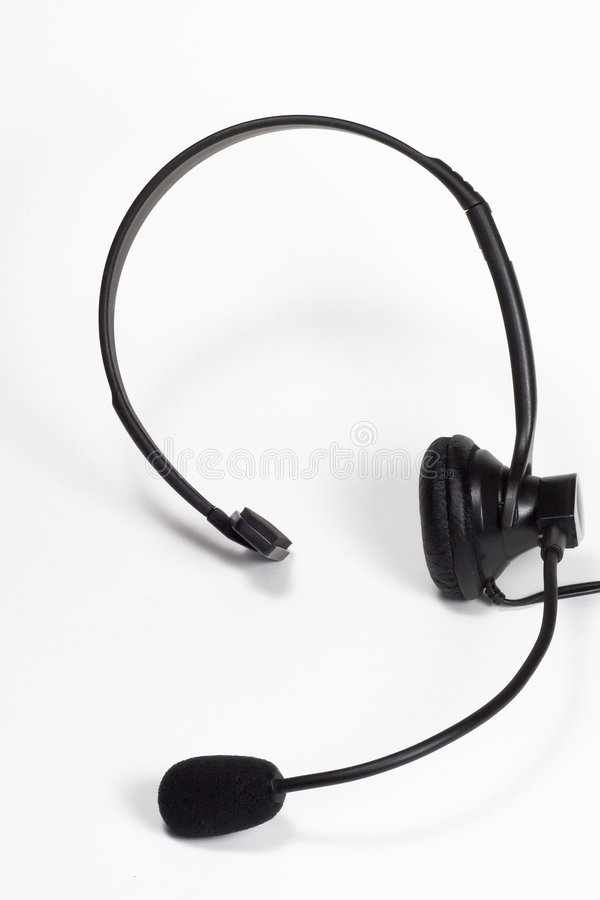 телефон шлемофона стоковые фото