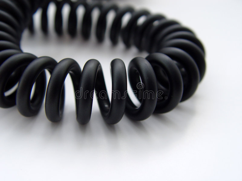 телефон шнура стоковая фотография rf
