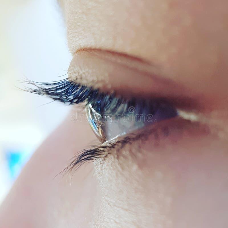 Тело, глаза, холодные стоковое изображение rf