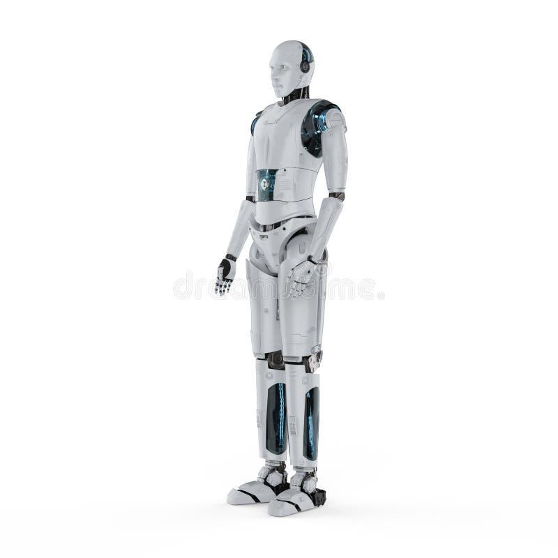 Тело робота полное бесплатная иллюстрация