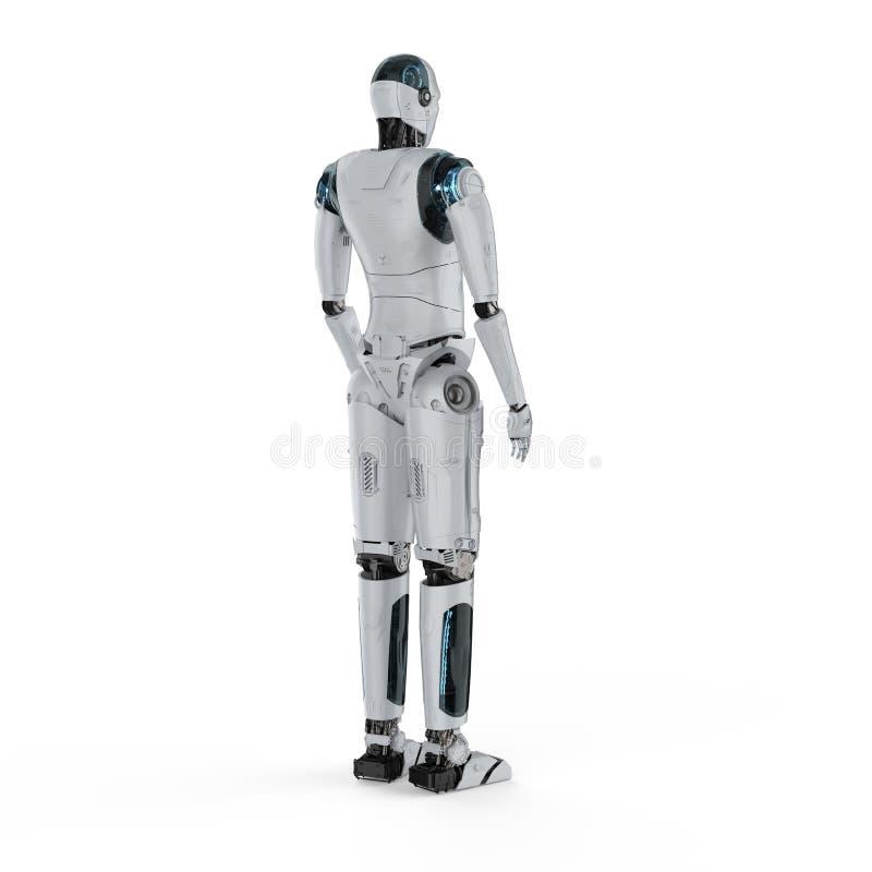 Тело робота полное иллюстрация вектора
