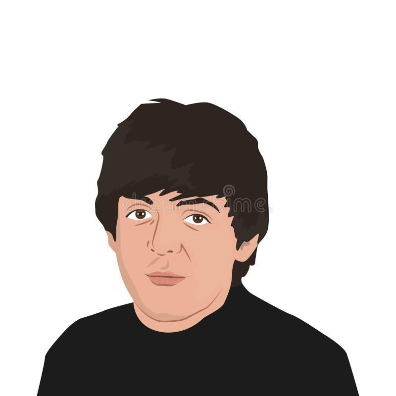 Тема диапазона Beatles бесплатная иллюстрация