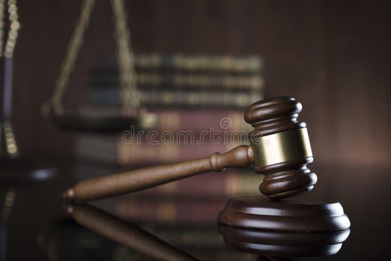 Тема закона установьте текст стоковая фотография rf