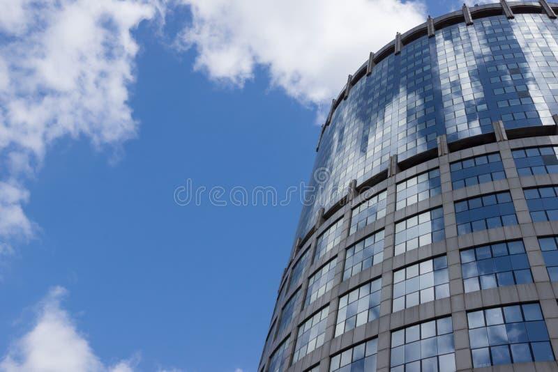 тема иллюстрации делового центра зодчества стоковая фотография