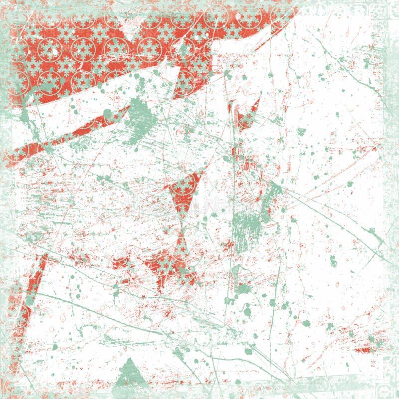 тема снежинки рождества предпосылки grungy стоковое изображение rf
