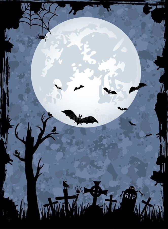 тема halloween иллюстрация вектора