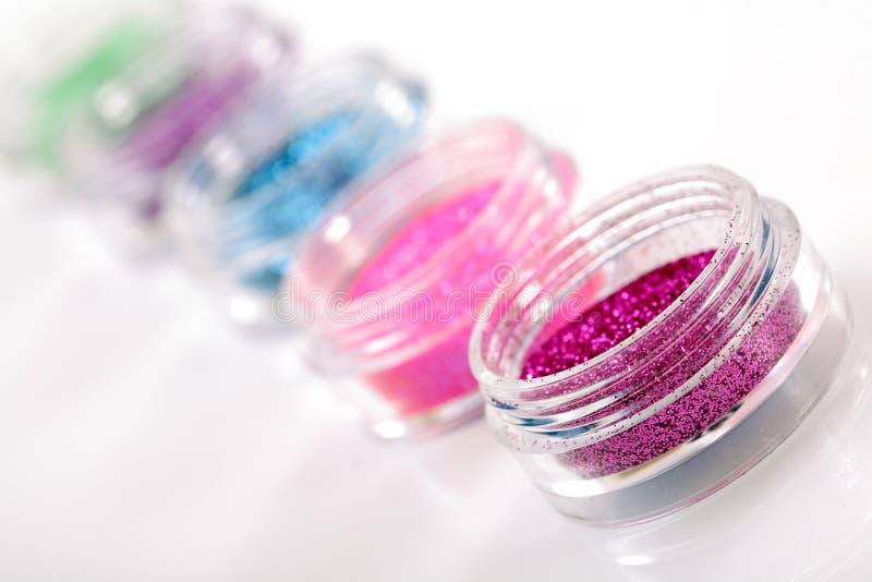 тема manicure парчи стоковое изображение