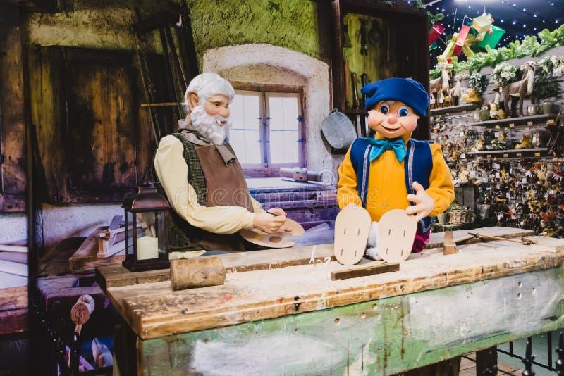 Тема Pinocchio стоковые фото