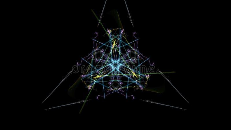 Темная абстракция clockwork, дизайна steampunk иллюстрация вектора