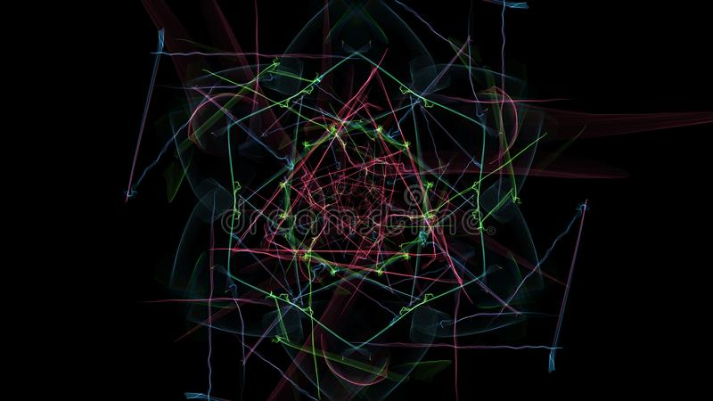 Темная абстракция clockwork, дизайна steampunk бесплатная иллюстрация
