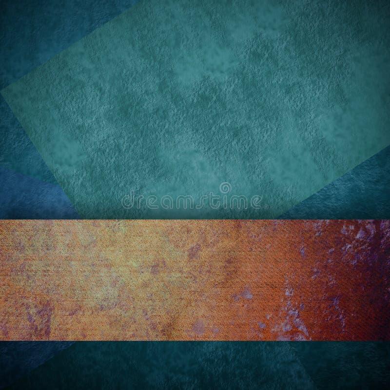 Темная ая-зелен предпосылка с текстурой grunge космоса экземпляра стоковое фото
