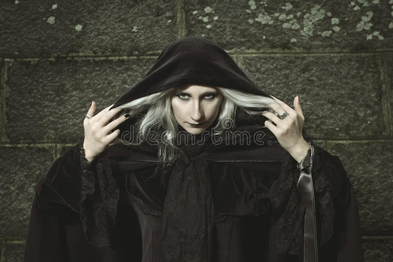 Темная ведьма стоковые фото