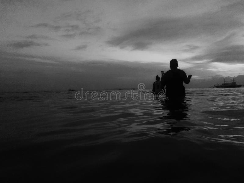 темная вода стоковые изображения rf