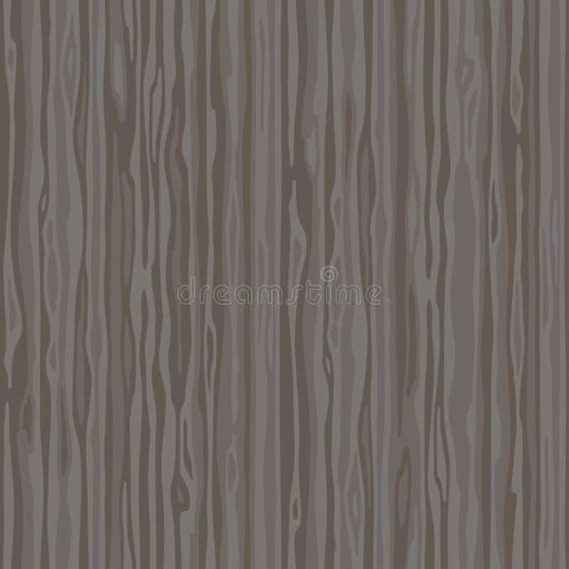 Темная деревянная поверхность striped волокна Предпосылка естественной текстуры wenge деревянной безшовная иллюстрация вектора