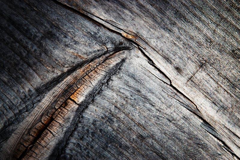 Темная деталь серой деревянной доски стоковое фото