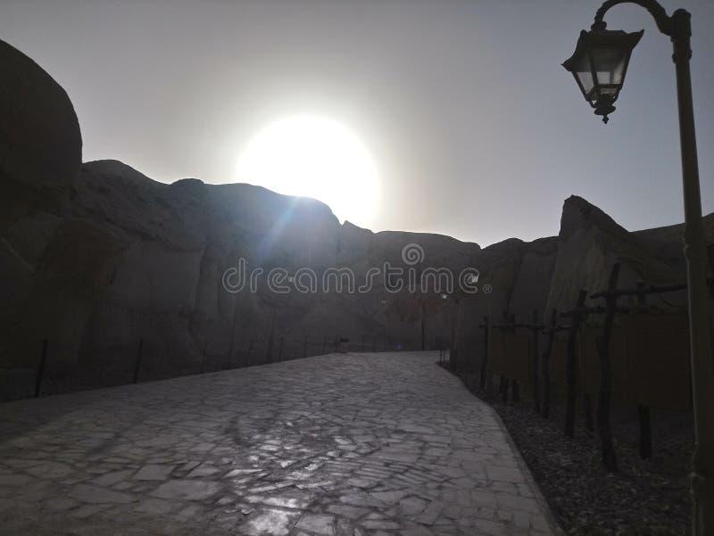 темная дорога стоковое изображение rf