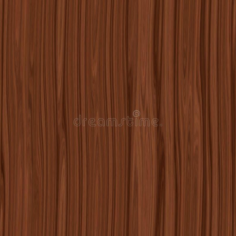 Темная деревянная коричневая безшовная текстура иллюстрация вектора