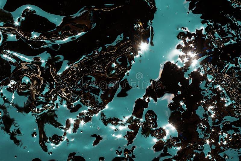 Темная жидкостная предпосылка стоковое фото rf