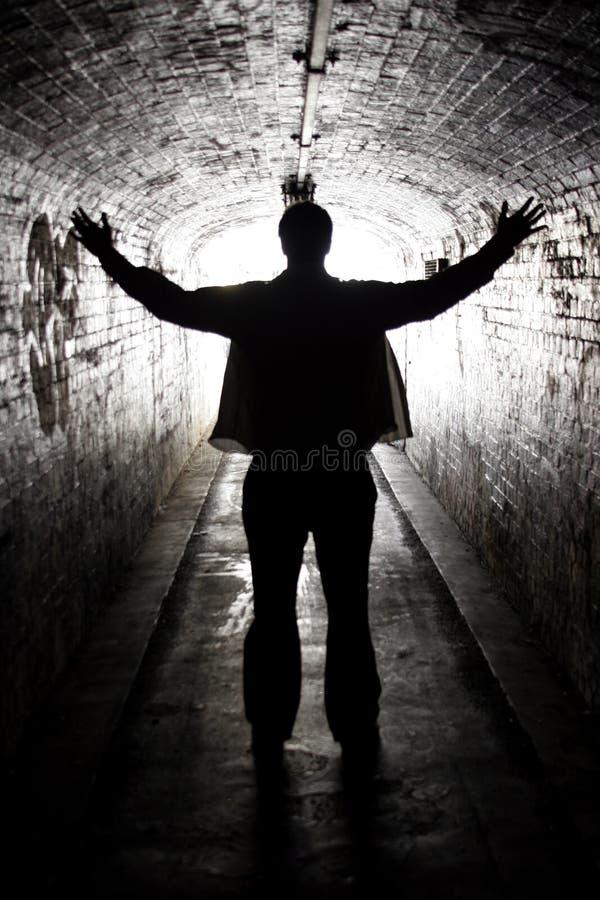 темная мессия стоковое фото