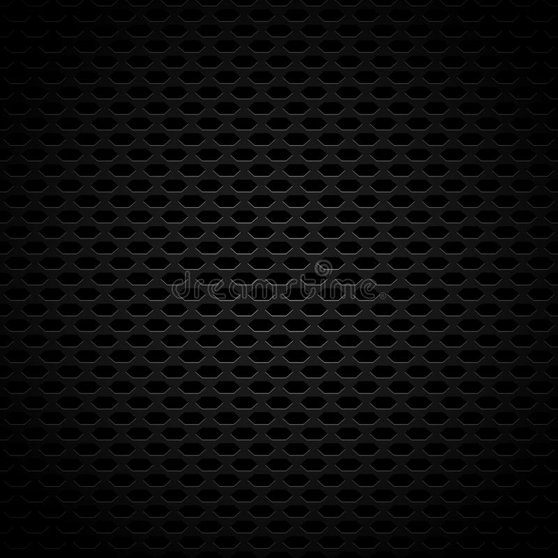 Темная похожая на Углерод картина предпосылки с плавно Repeatable g иллюстрация вектора
