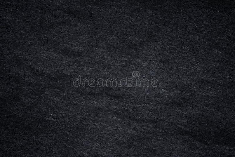 Темная серая черная предпосылка шифера или естественная каменная текстура иллюстрация штока