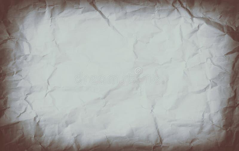 Темная старая бумажная текстура стоковые изображения