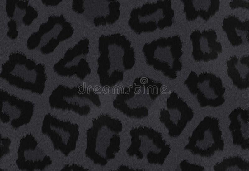 Темная текстура пантеры иллюстрация вектора