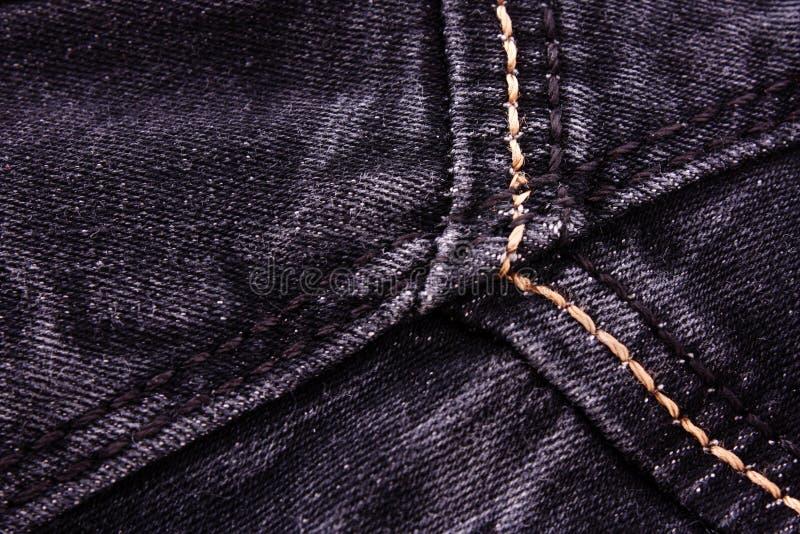 Темная текстура ткани стоковые фотографии rf
