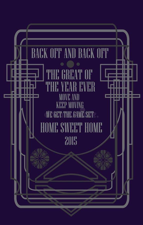 Темная фиолетовая рамка стоковые фото