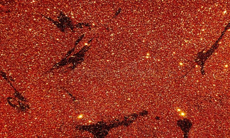 Темное текстурированное ярким блеском - красные обои предпосылки стоковое изображение