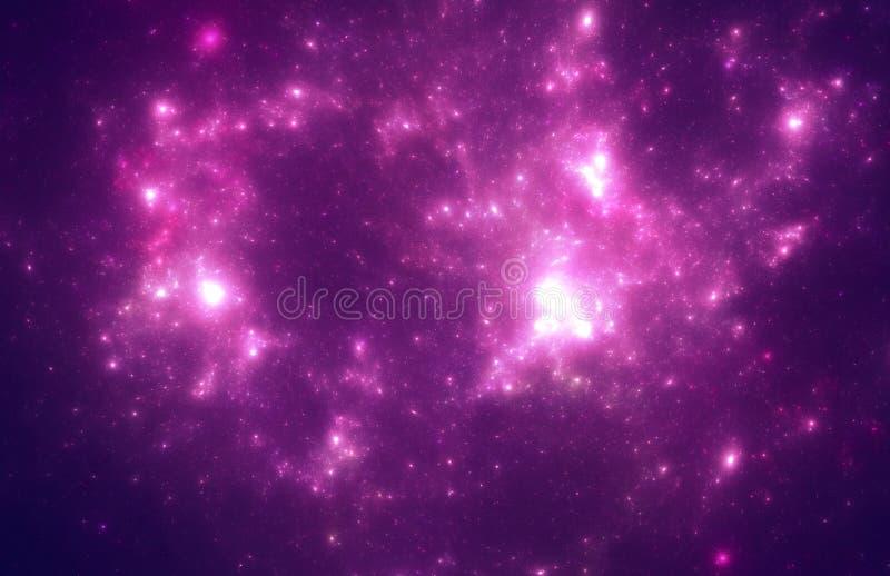 Темное starfield глубокого космоса бесплатная иллюстрация
