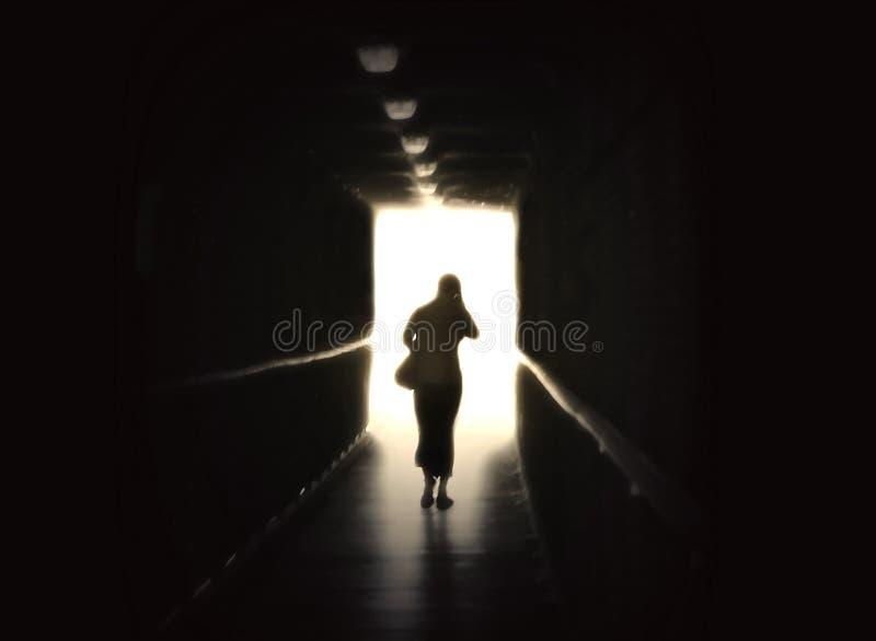 темнота вне стоковое изображение rf