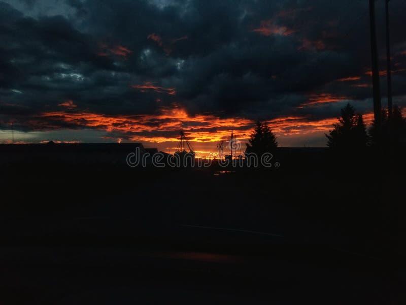 Темнота в конце стоковое фото rf