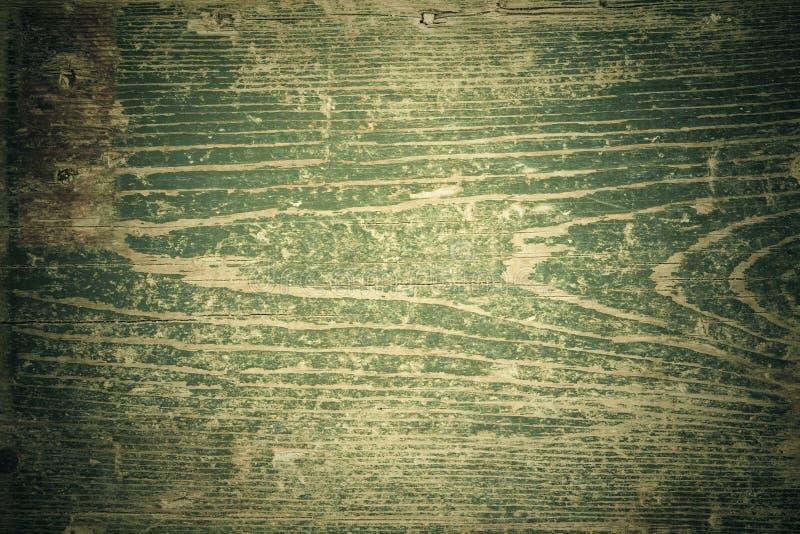 темнота предпосылки - зеленое gunge деревянное стоковые изображения rf
