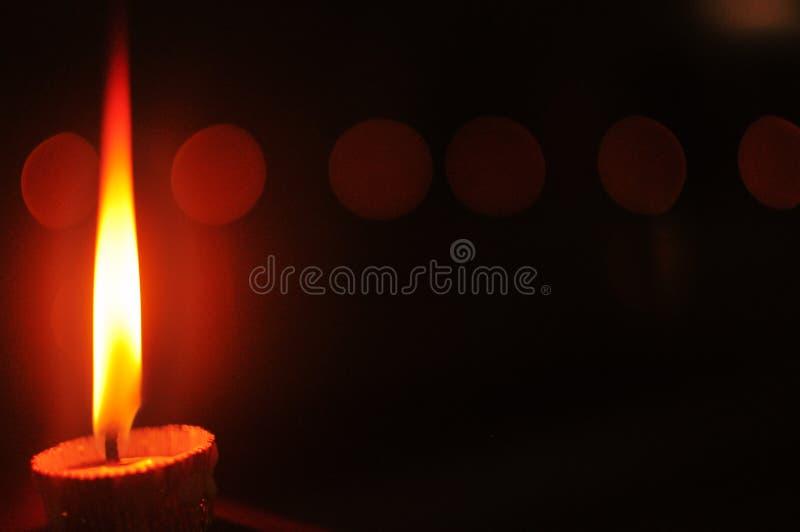 Темнота убийства с светом стоковые изображения rf