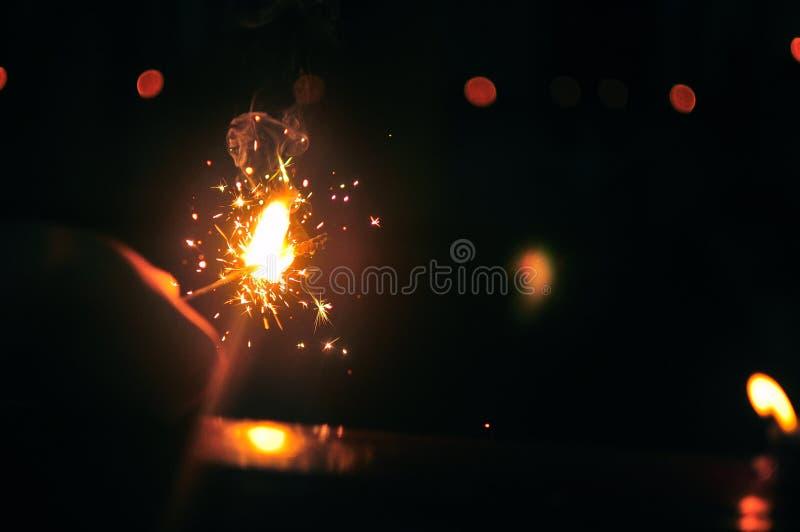 Темнота убийства с светом стоковая фотография rf