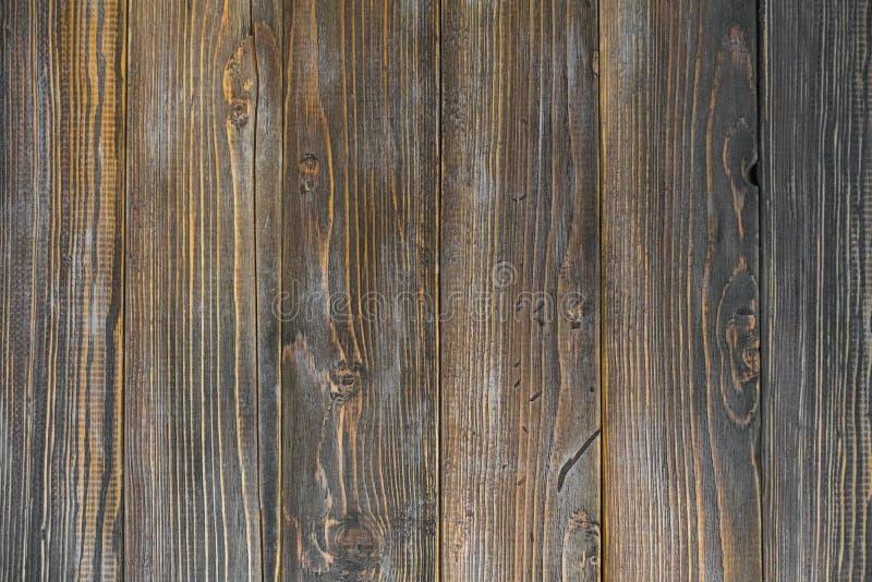 Темно-коричневые деревянные планки фон Грунж-текстура стоковые фото