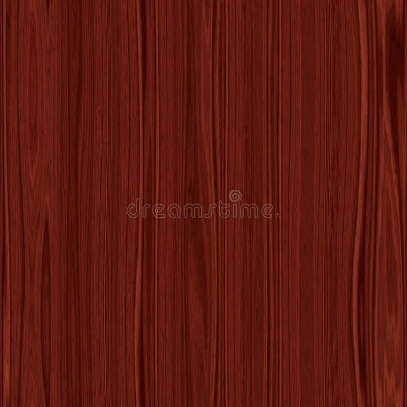 Темные деревянные безшовные текстура или предпосылка иллюстрация штока